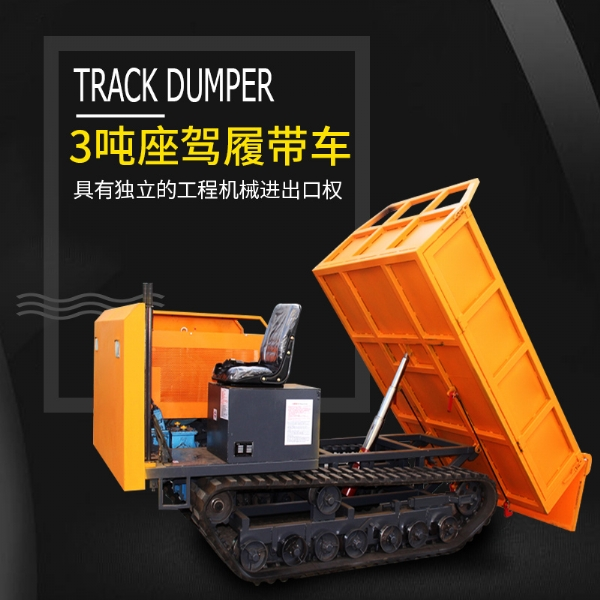 3T Car crawlercar Diesel engine( water cooling)crawler